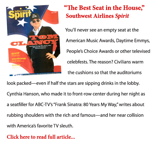 The Best Seat in the House excerpt and cover