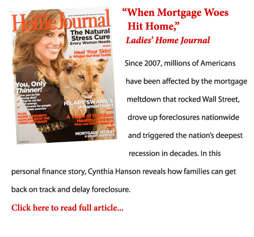 """When Mortgage Woes Hit Home"" excerpt and cover"